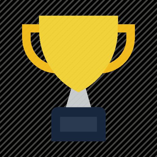 award, cup, reward, ribbon icon