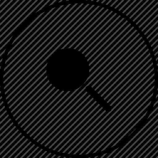 glass, large, magnify, maximum, minimum, search, zoom icon