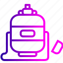 bottle, drink, drinking, school, water icon