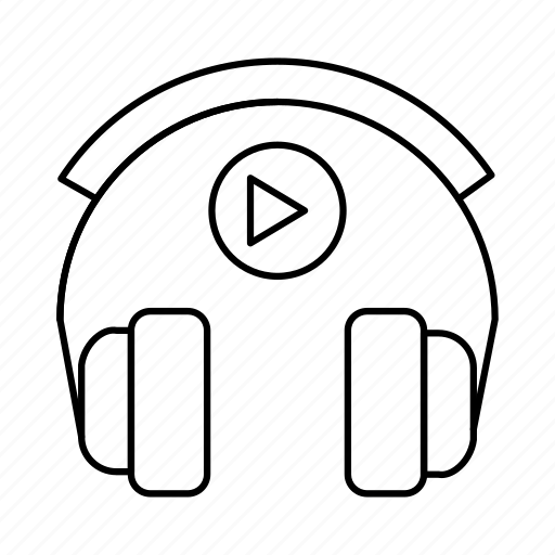 earphone, headphone, listen, phone, support icon