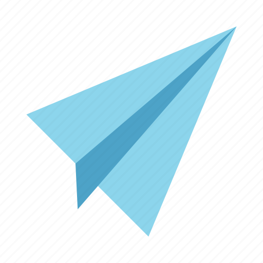 airplane, global, line, network, paper plane icon