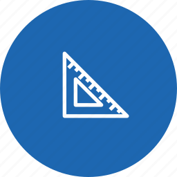 design, geometry, maths, rule, shape, tool, triangle icon