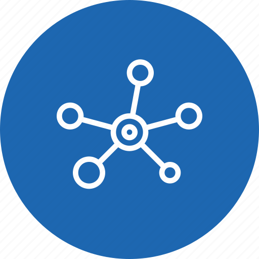 atom, connect, mole, research, science icon