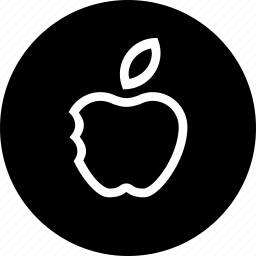 apple, basic, fruit, half, school, study, teaching icon