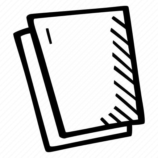 blank, education, kids, learning, paper, preschool, school icon