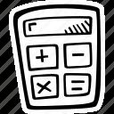calculator, education, kids, learning, preschool, school icon