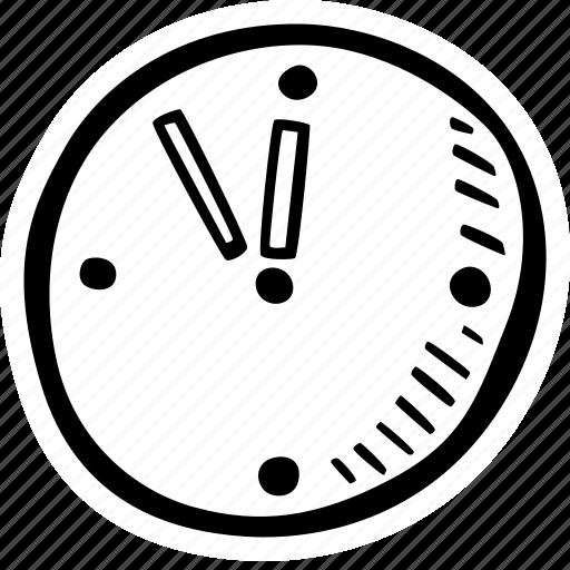 clock, education, kids, learning, preschool, school icon
