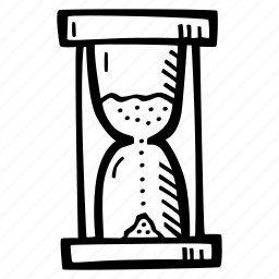 education, hourglass, kids, learning, preschool, school icon