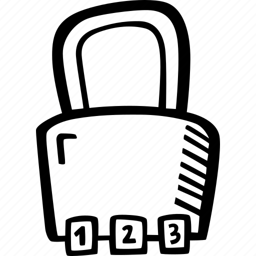 education, kids, learning, padlock, preschool, school icon