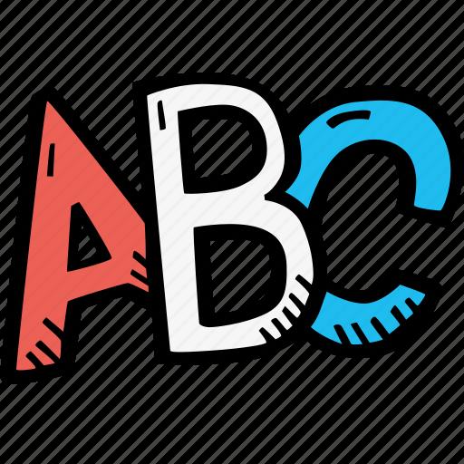 abc, education, kids, learning, letters, preschool, school icon