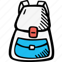 backpack, education, kids, learning, preschool, school icon