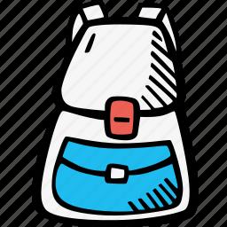 backpack, education, kids, learning, preschool, school icon