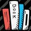 books, education, kids, learning, preschool, school icon