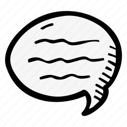 bubble, chat, education, kids, learning, preschool, school icon