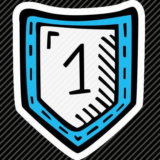 classroom, education, kids, learning, preschool, school, shield icon