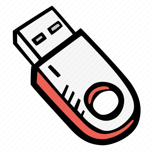 computer, device, memory, memory stick, usb icon