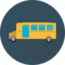 bus, bus stop, public bus, school bus, transport icon