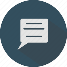 chat, communication, messaging, write icon