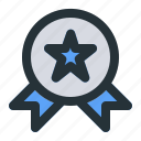 award, badge, education, learning, reward, school, study icon