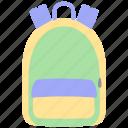 backpack, school, bag, rucksack