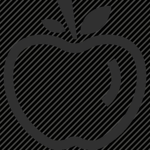 Apple, education, staff, teacher icon - Download on Iconfinder