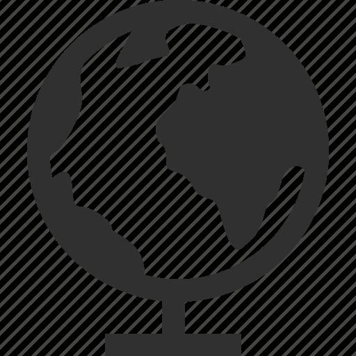Globe, mundo, teach icon - Download on Iconfinder