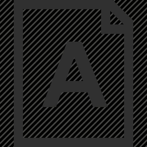 good, grade, letter icon