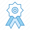 award, certificate, reward, ribbon, trophy icon