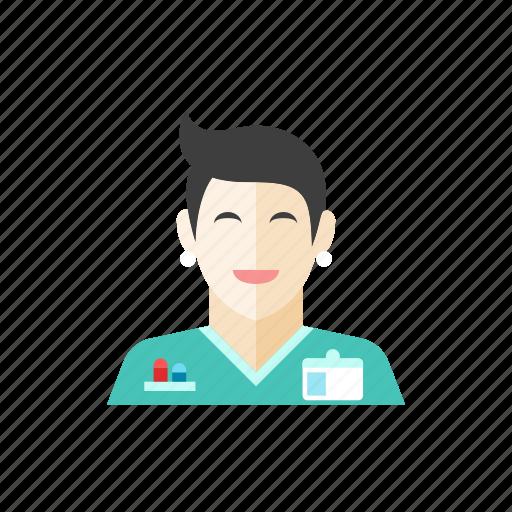 3, nurse icon