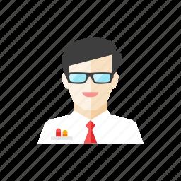 1, scientist icon