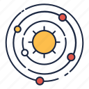planet, science, solar, system icon