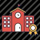 house, library, school, university
