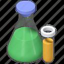 flask, chemistry, tube, laboratory