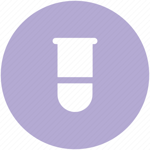 beaker, culture tube, lab glassware, laboratory, sample tube, science, test tube icon