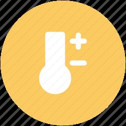 celsius, celsius kelvin, degree scale, fahrenheit, fever, n, temperature, thermometer icon
