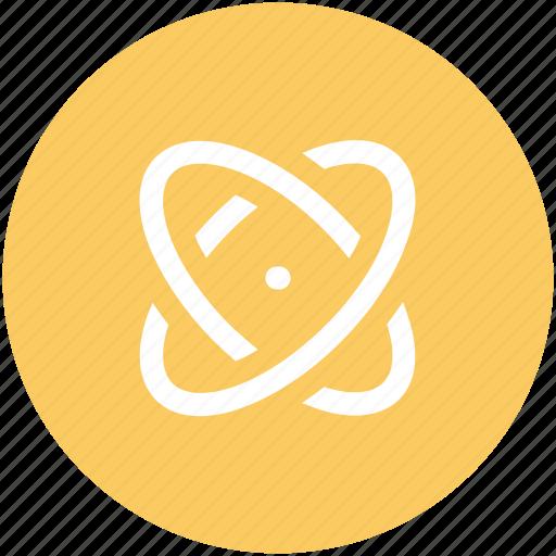 atom, molecular, molecule, molecule symbol, nuclear, orbit, proton icon