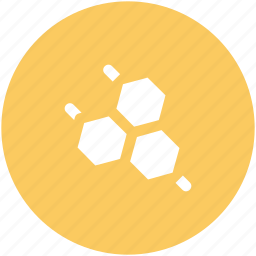 geometric pattern, hexagon shape, hexagonal pattern, hexagons, honeycomb pattern, molecule icon