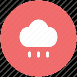 climate, cloud, meteorology, rain cloud, raining, weather, weather forecast icon