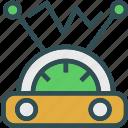 electricity, measure, radio, signal icon