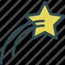 fallingstar, space, universe icon