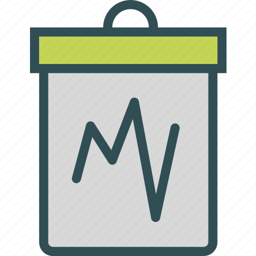 analysis, chart, observe, stats, study icon