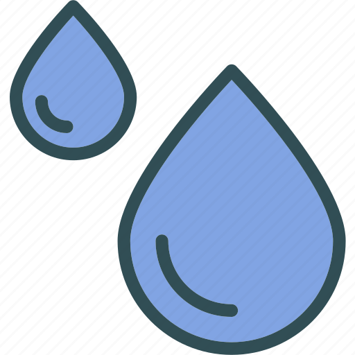 clean, drop, droplet, water icon