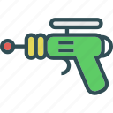 alien, future, futuristc, gun, pistol icon