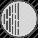 circle, edit, half, planet icon
