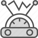 electricity, measure, radio, signal icon