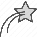 fallingstar, space, universe icon