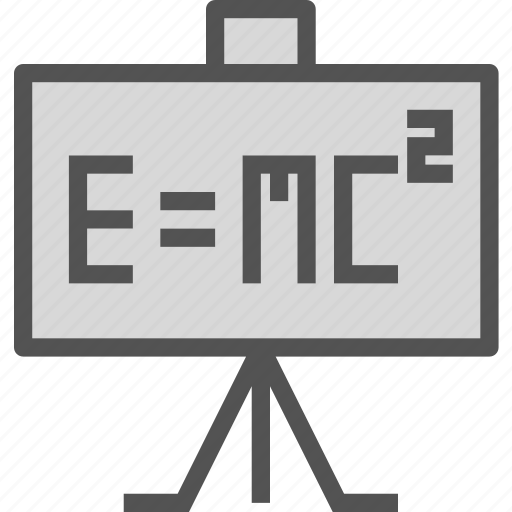 calculate, einstein, equation, math, study icon