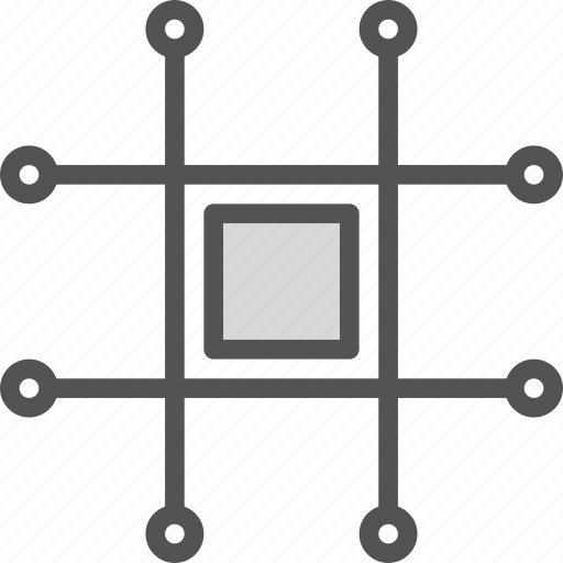 board, chip, computer, tech, test icon