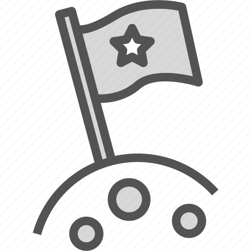 flagstar, planet, space, universe icon