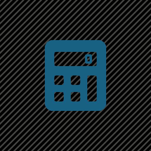 accounting, calculator, math icon